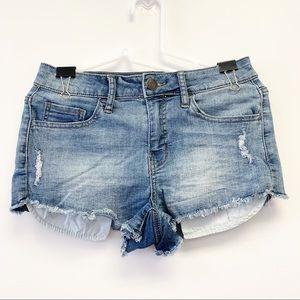Authentic American Heritage Cutoff Denim Shorts, 7